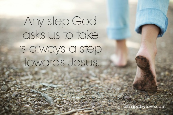 Those scared steps I took in faith led me to the sacred ground of transformation.