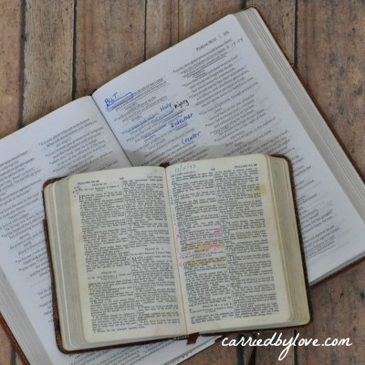 my bible and my grandfather's bible